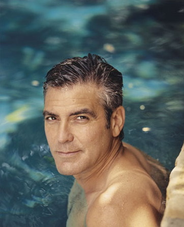 George Clooney coiffure homme