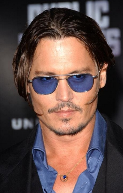 johnny depp coiffure homme